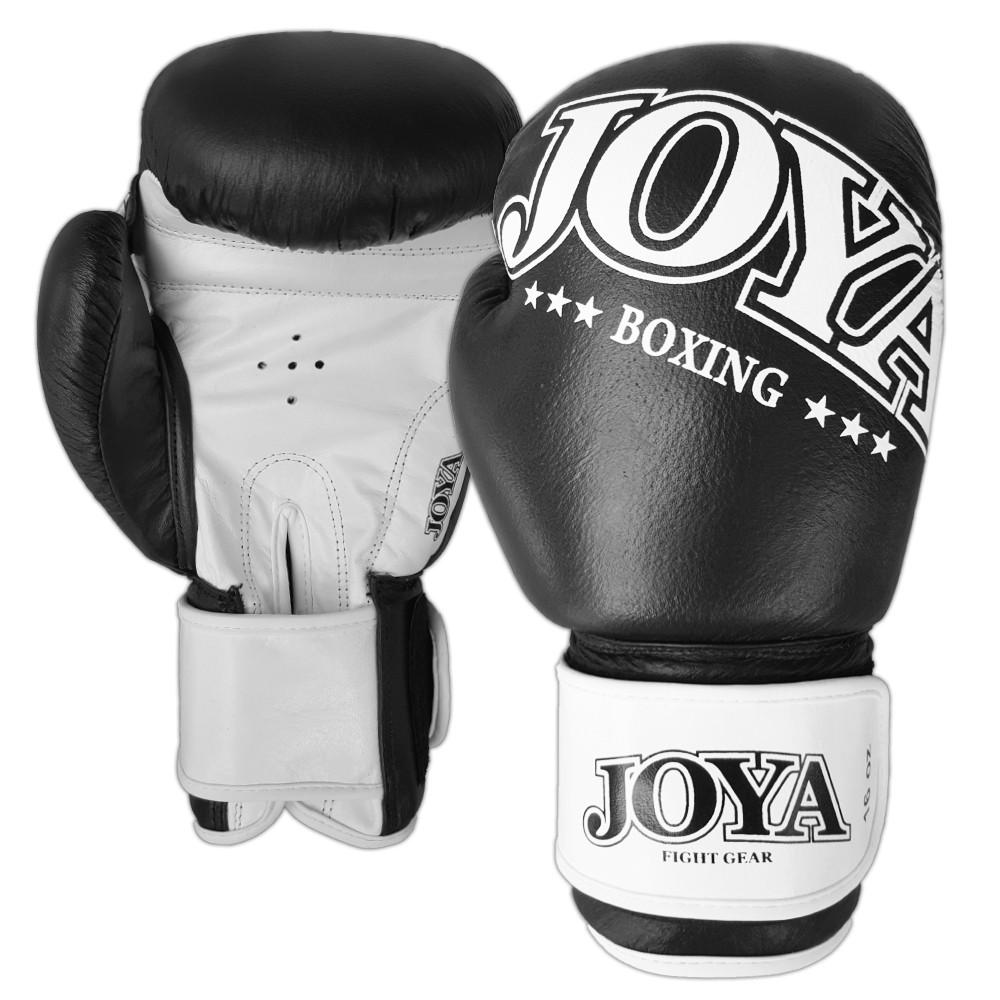 joya bokshandschoen zwart/wit