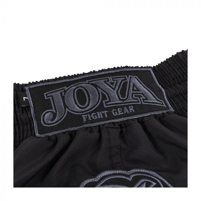 joya faded black kickboksbroek zwart