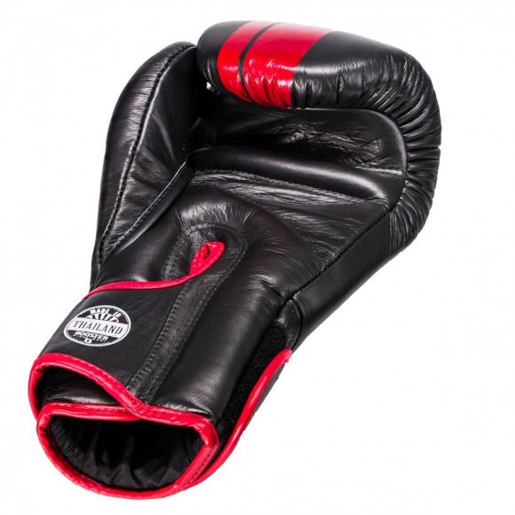 booster dominance 2 bokshandschoen zwart/rood
