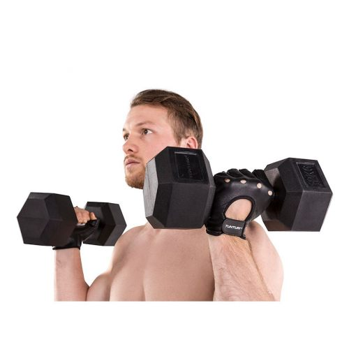 Tunturi fitnesshandschoenen leer