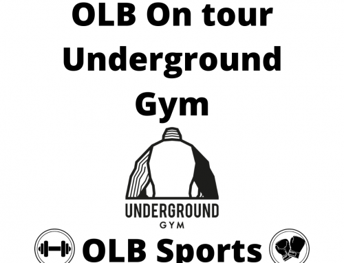 OLB on tour Underground gym