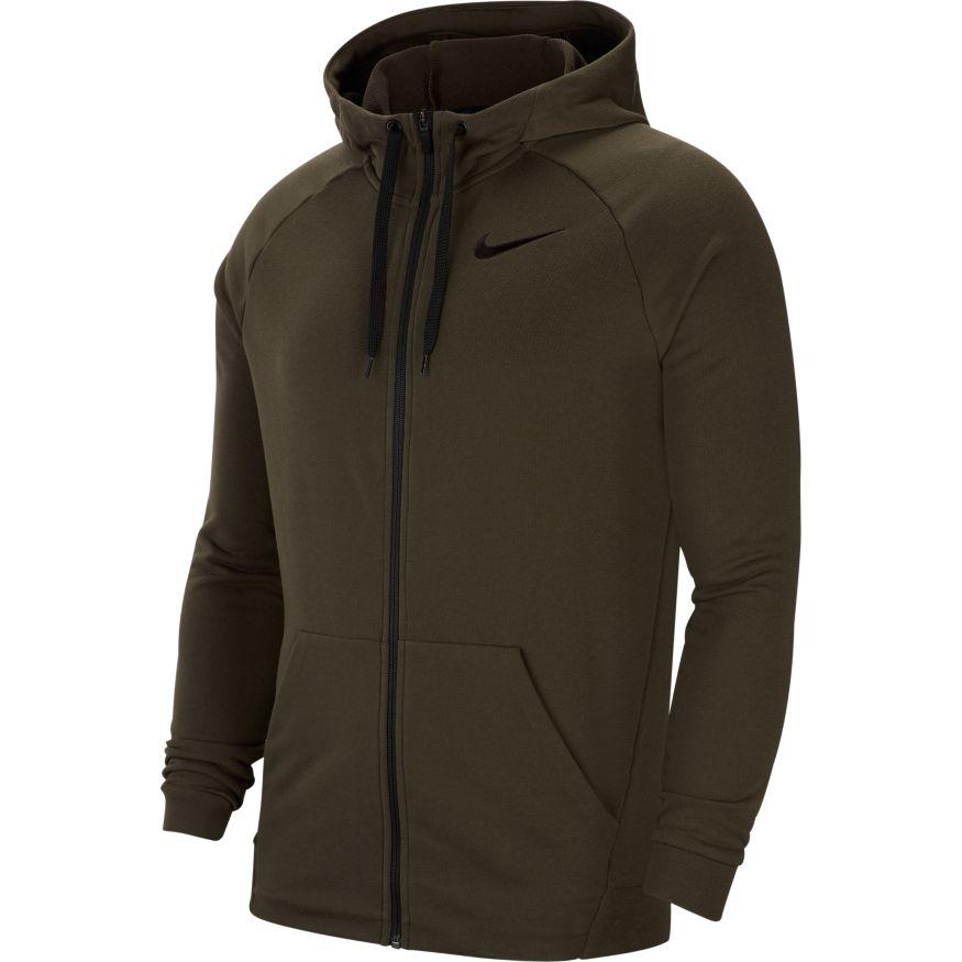 Nike hoodie groen