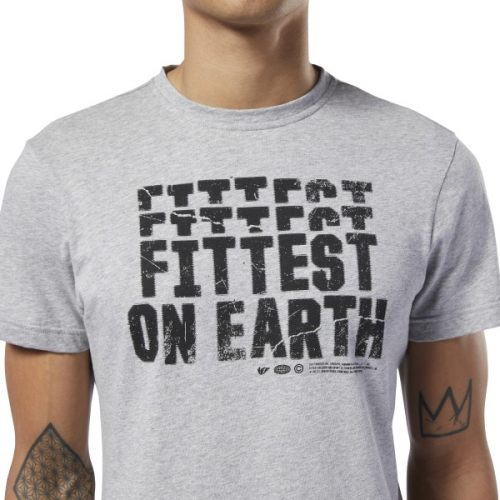 Reebok fittest on eath shirt