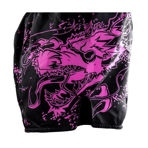 Joya junior kickboksbroek dragon roze