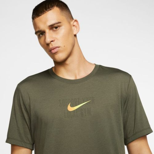 Nike swoosh training shirt