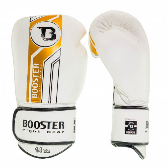 Booster Bokshandschoen BGLV9 Wit/Goud