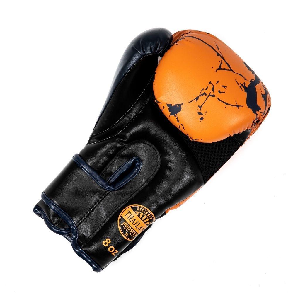 Booster bokshandschoen marble oranje